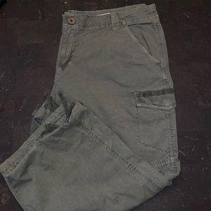 DKNY Cargo Capri Pants